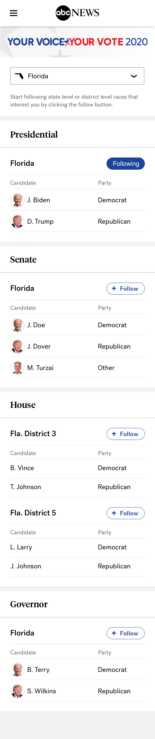 Explicit Follow – State Races (Following)