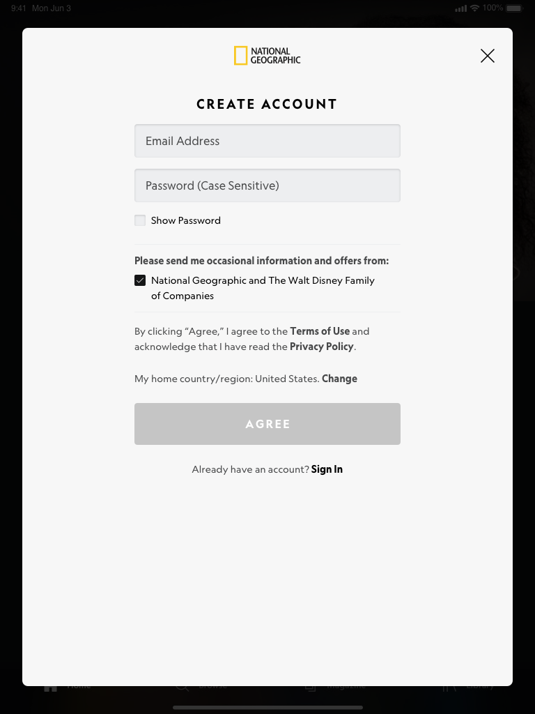 Paywall – One ID – Sign Up (Light Mode) Portrait