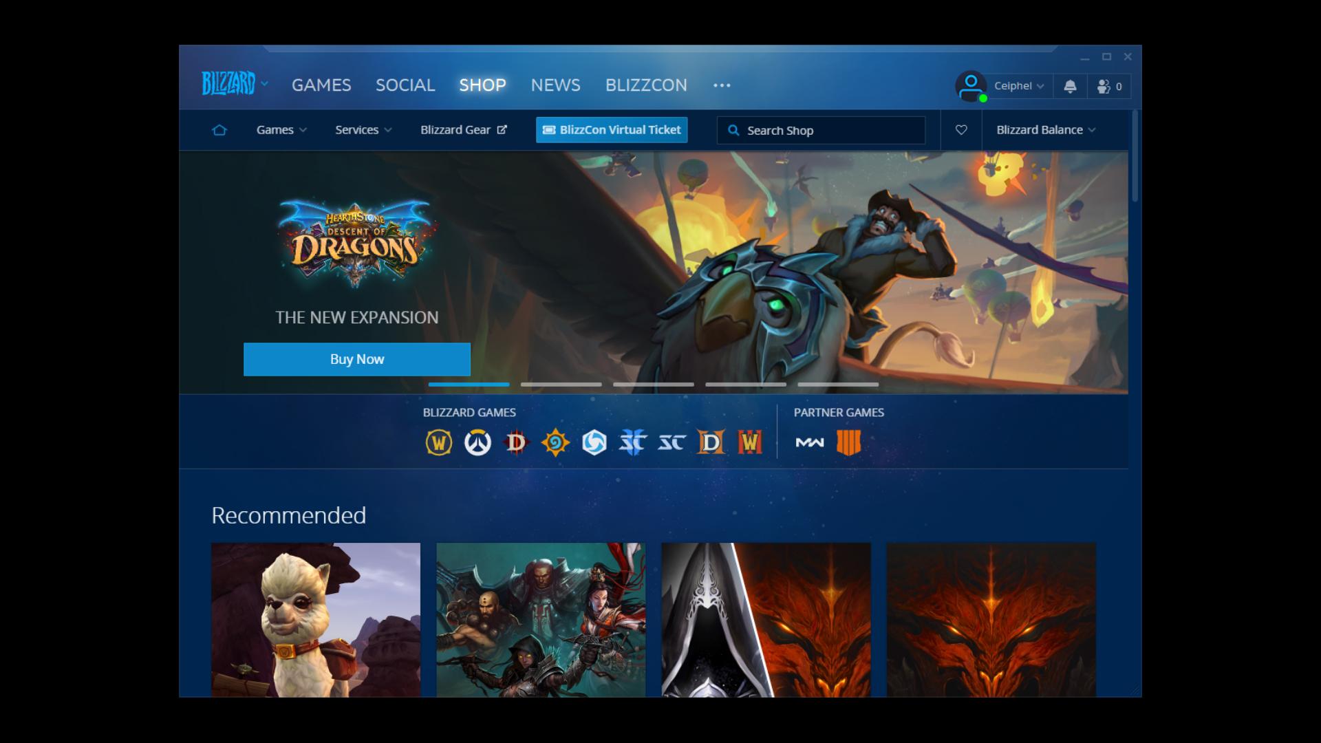 Steam-Blizzard-Client